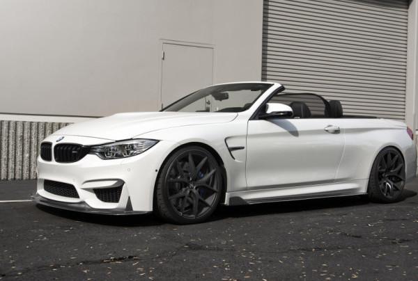 BMW F83 M4 cabrio white