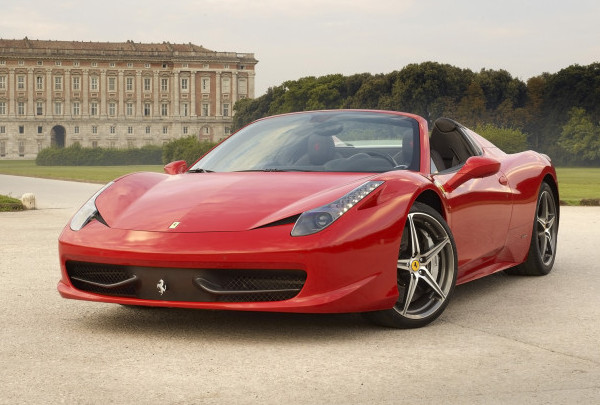 2014-Ferrari-458-Spider-Red-Color-Wallpaper